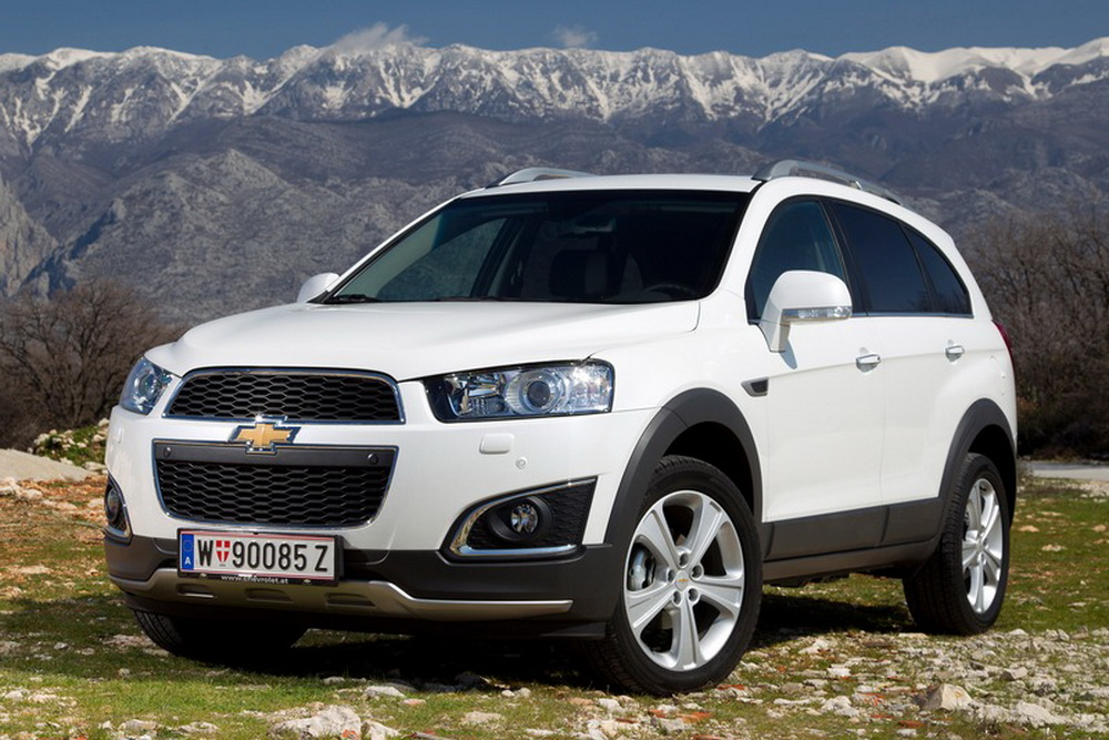 Chevrolet Captiva New-фото